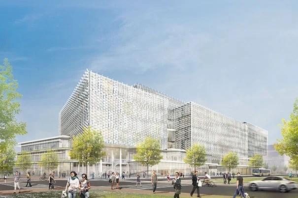 Rollout of science and engineering complex harvard gazette - Behnisch architekten boston ...