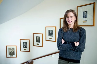 Heather Sarsons, a Ph.D. student in economics and a doctoral fellow in the Harvard Kennedy School's Multidisciplinary Program on Inequality and Social Policy, said that despite the uptick of women in doctoral programs for economics, they remain underrepresented, both in number and in proportion to their degree attainment, among the ranks of tenured faculty.