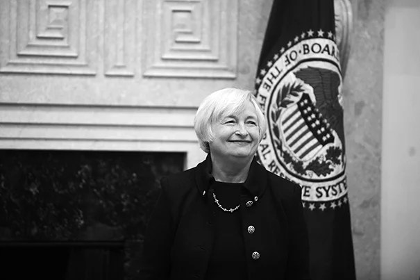 The Radcliffe Institute has chosen Janet L. Yellen, chair of the Board of Governors of the Federal Reserve System, as its Radcliffe Medalist. The award will be presented on May 27.