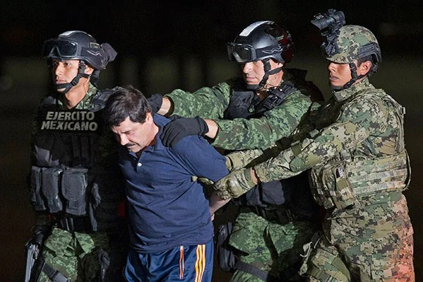"""""""As long as there is money to be made, and with such a profitable market next door, this business is not going to go away, because if it's not El Chapo, it's going to be someone else,"""" said Harvard's Evelyn Krache Morris about the arrest of Joaquín """"El Chapo"""" Guzmán."""