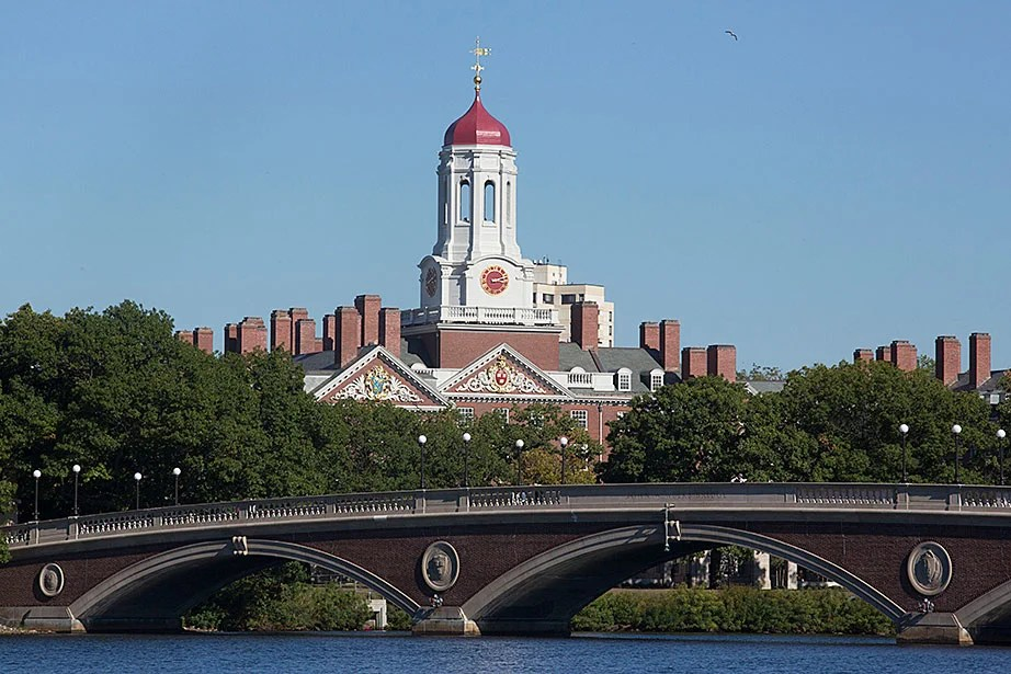 A view of Dunster House from the Charles River.  Kris Snibbe/Harvard Staff Photographer