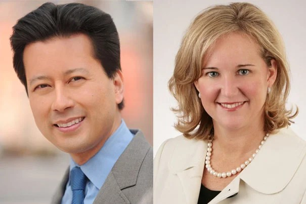 Kenji Yoshino '91 has been elected president of Harvard's Board of Overseers for the academic year 2016-17. Nicole Parent Haughey '93 has been elected vice chair of the Overseers executive committee for 2016-17.