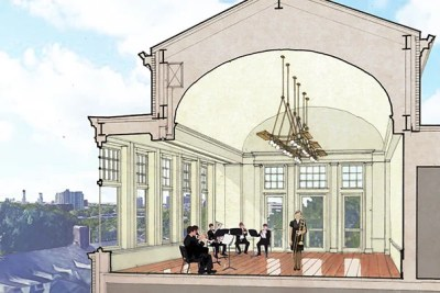 The Winthrop House renewal project will create more unified, accessible environs for undergraduates living in the neo-Georgian-style House, preserving Harvard's deeply historic aesthetic while welcoming modern design elements.