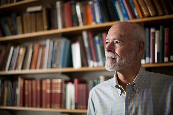 Retirement has allowed Leo Damrosch to give his full attention to research and writing.