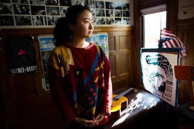 """""""This is a paean to an old house in which young people have left their memories,"""" writes Faye Zhang '17 of the Dudley Co-op."""
