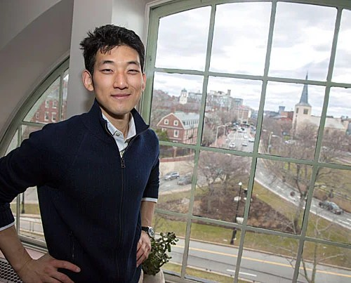 Economics Ph.D. graduate Jisung Park focuses on the natural environment's effects on society—a boyhood interest that grew first in Kansas, then sharpened in Seoul. Kris Snibbe/Harvard Staff Photographer