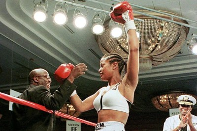 """""""I've seen, over the years, women in ... every single sport we play, down to football,"""" says boxing champion and former president of the Women's Sports Foundation Laila Ali. """"I think we are moving in the right direction. Still, a whole lot needs to be done."""""""