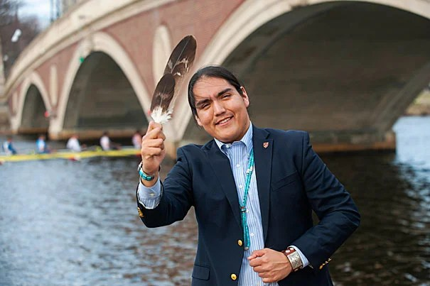 Navajo Student Leaves His Footprints Across The Globe