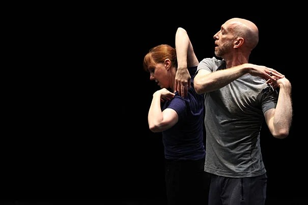 """Dancers Jill Johnson and Christopher Roman will perform choreographer William Forsyth's """"Catalogue (First Edition)"""" to kick off a two-day celebration of the choreographer and the discipline in the Widener Library Rotunda."""
