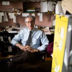 Howard Gardner in his office.