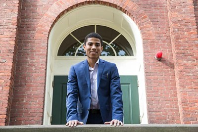 Malcolm Reid '21 is ready to take advantage of all Harvard has to offer.