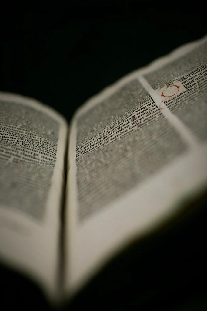 Malleus Maleficarum, open page