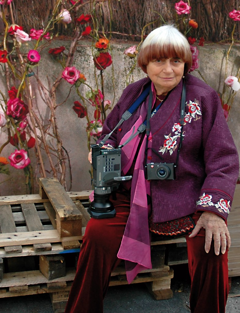 Agnes Varda.