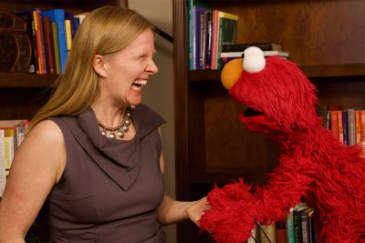 Elmo and Sesame Workshop Executive Vice President Sherrie Westin