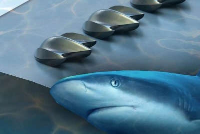 A team of evolutionary biologists and engineers at Harvard has demonstrated a new structure, inspired by sharkskin, that could improve the aerodynamic performance of planes, wind turbines, drones, and cars.