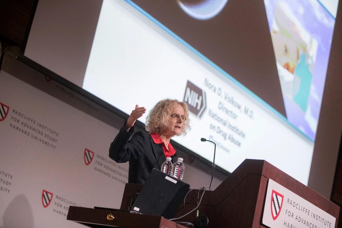 Sleep expert Nora D. Volkow