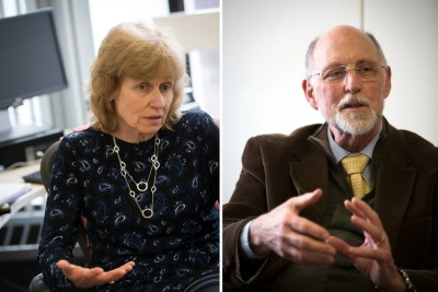 Peggy Newell and Donald Pfister talk to the Gazette about the redoubling of efforts by the Title IX Office and the Office for Dispute Resolution to make Harvard safer for all.