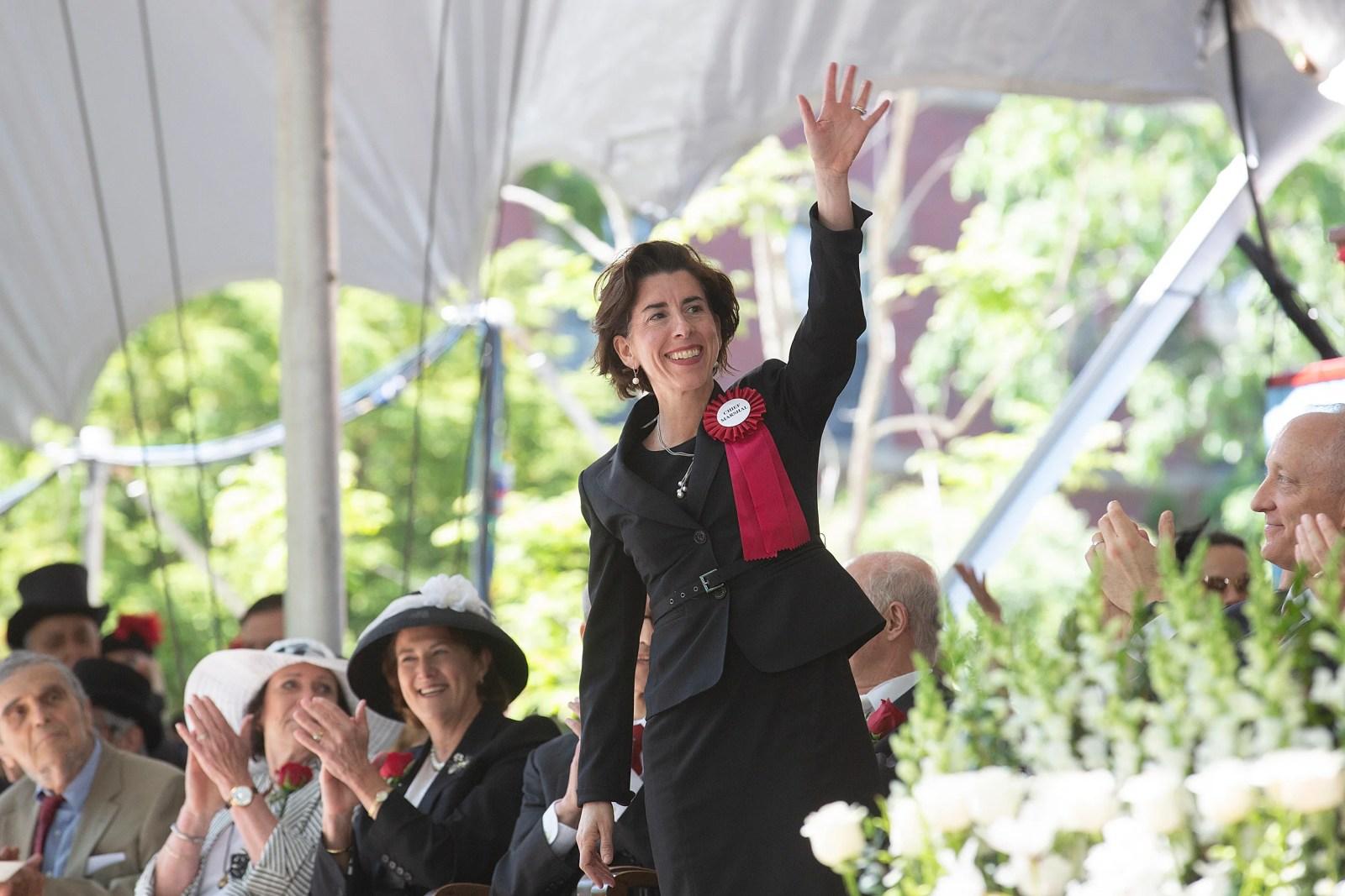 R.I. Gov. Gina Raimondo.