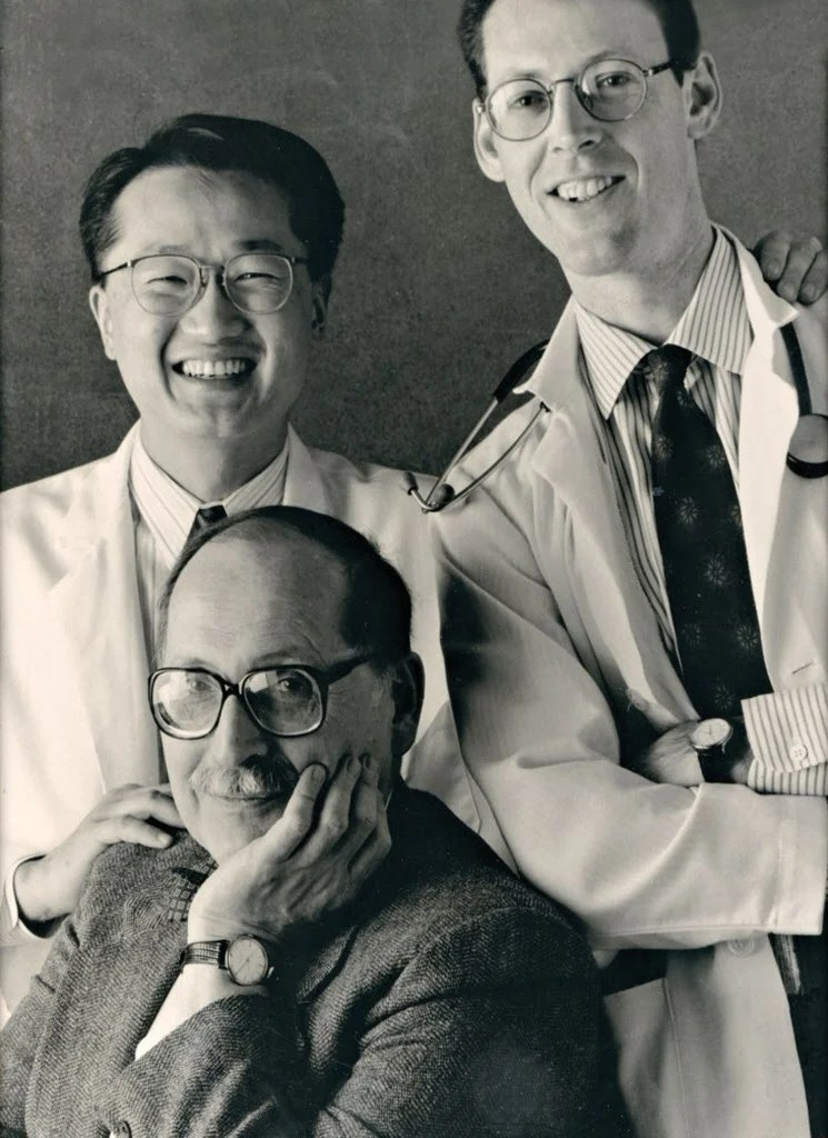 Circa 1990: Jim Kim, Paul Farmer and Marshall Wolf
