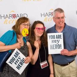 Harvard Heroes honored in Sanders Theatre ceremony