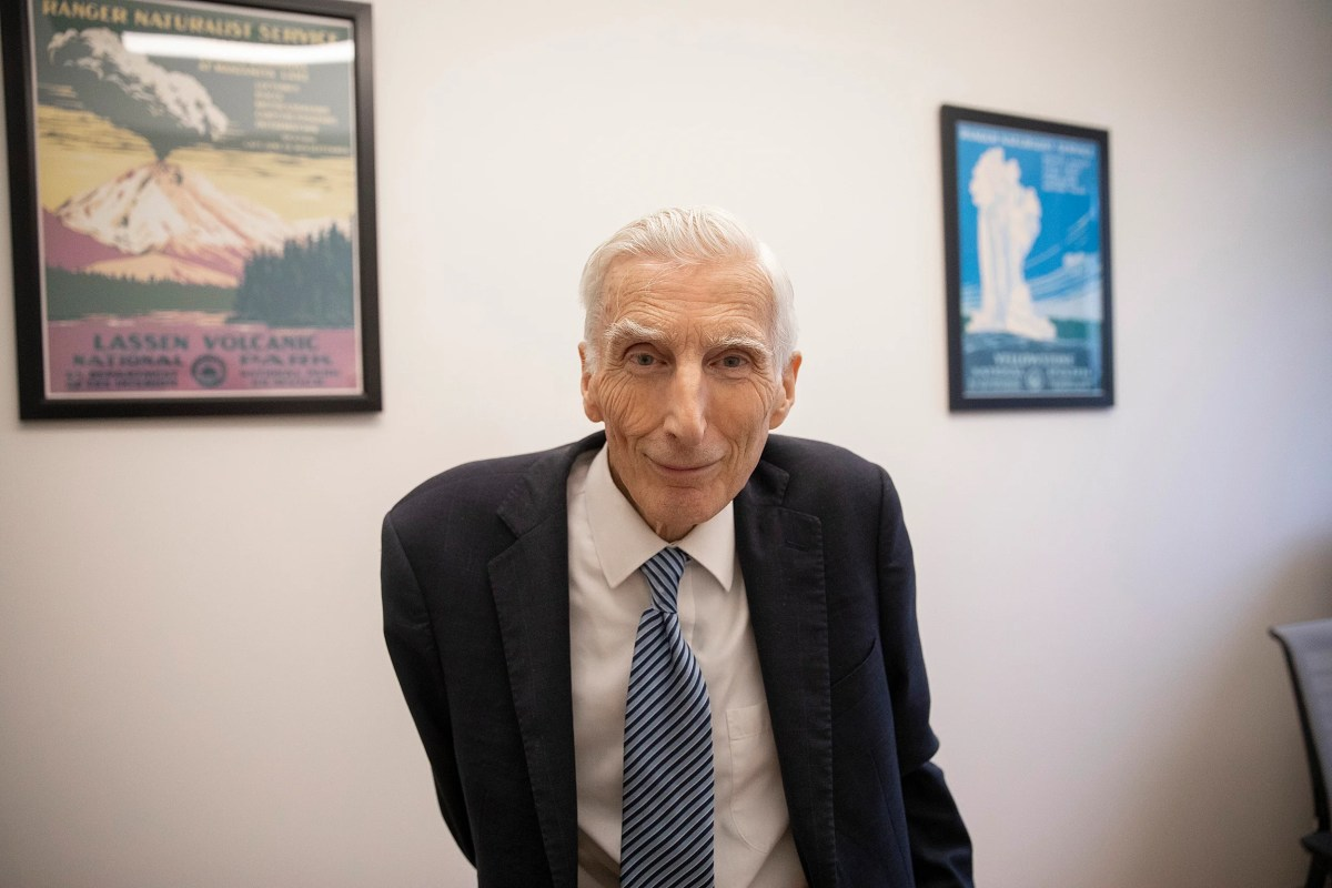 astrophysicist and cosmologist Martin Rees