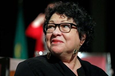 Supreme Court Associate Justice Sonia Sotomayor
