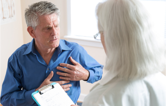 Testing of ER patients for heart attack in absence of