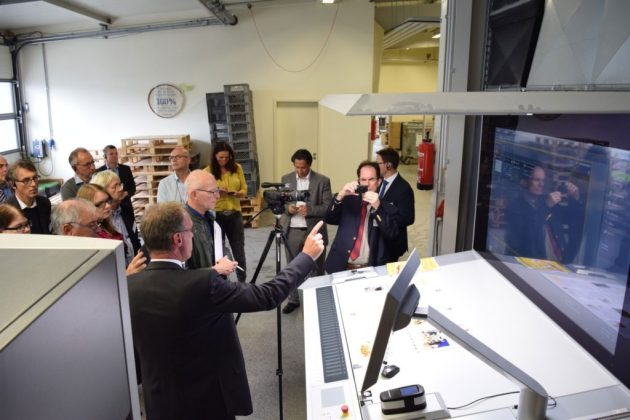 "A new video shows that the ""navigated and autonomous press room"" is now a reality."