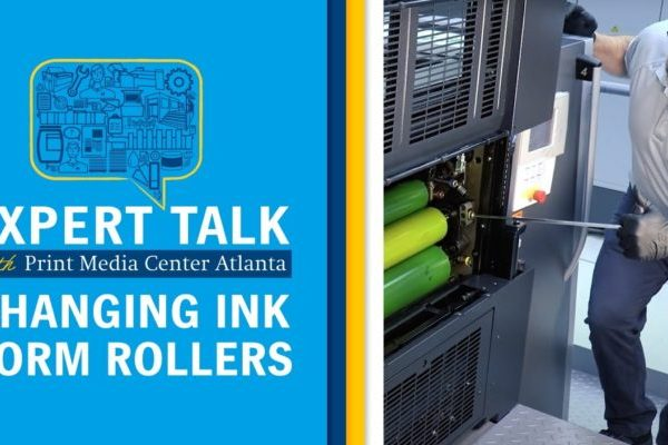 Changing the Ink Form Rollers