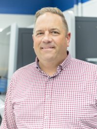 Scot Neumann, Heidelberg Sales Manager, Midwest for Gallus products