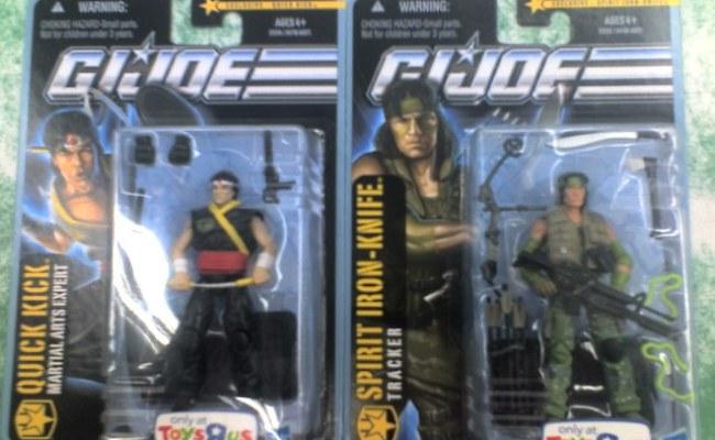 Gi Joe Pursuit Of Cobra Quick Kick And Jungle Assault