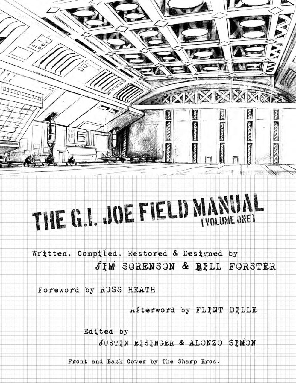Snake Eyes And Storm Shadow #16 And GI Joe Field Manual
