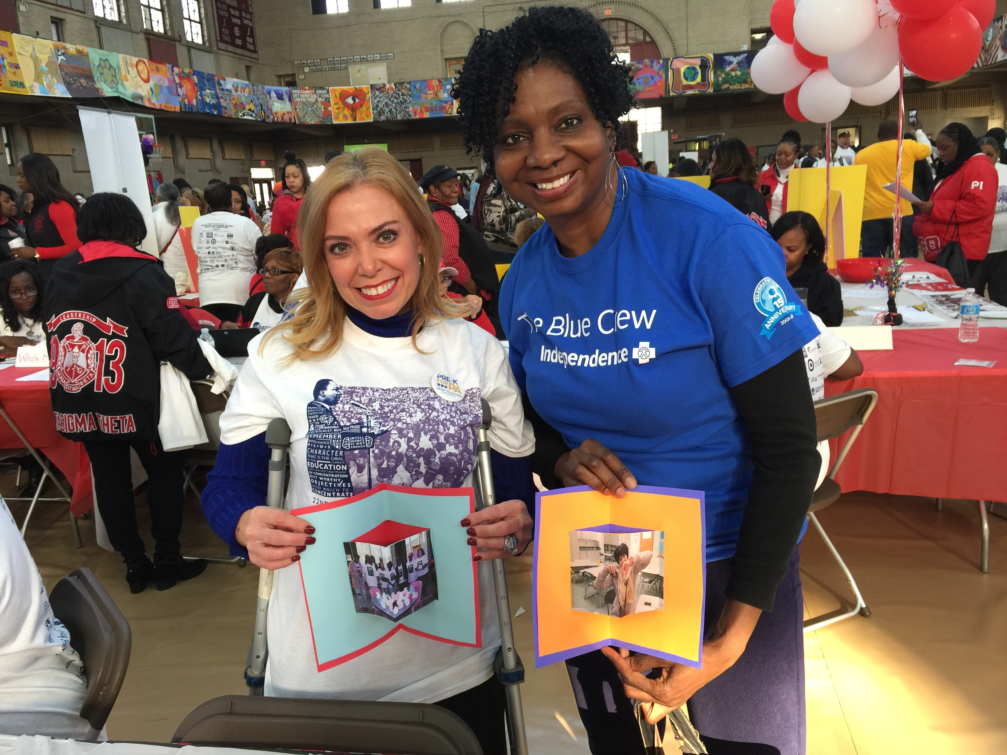 Independence Blue Cross Associates Honor Martin Luther