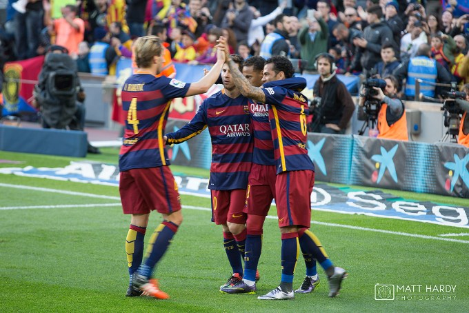 Neymar Jr scores first as Barcelona beat Real Sociedad 4-0 in La Liga at Camp Nou