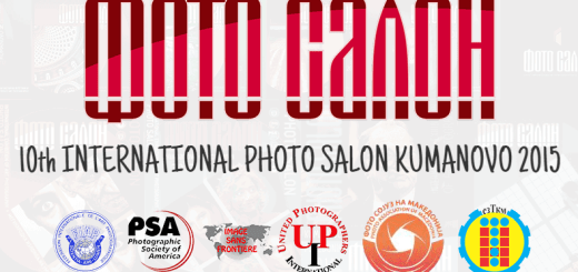 10th INTERNATIONAL PHOTO SALON KUMANOVO 2015