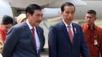 Presiden Joko Widodo dan Luhut Binsar Pandjaitan/RMOL