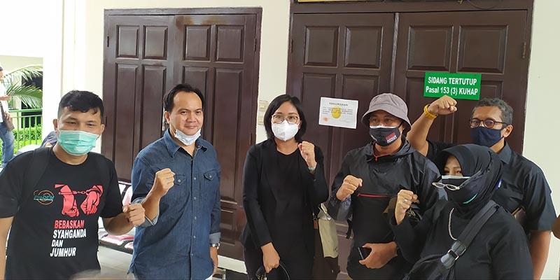 Sidang Eksepsi Jumhur Hidayat Dijaga Ketat, ProDem: Rezim Paranoid!