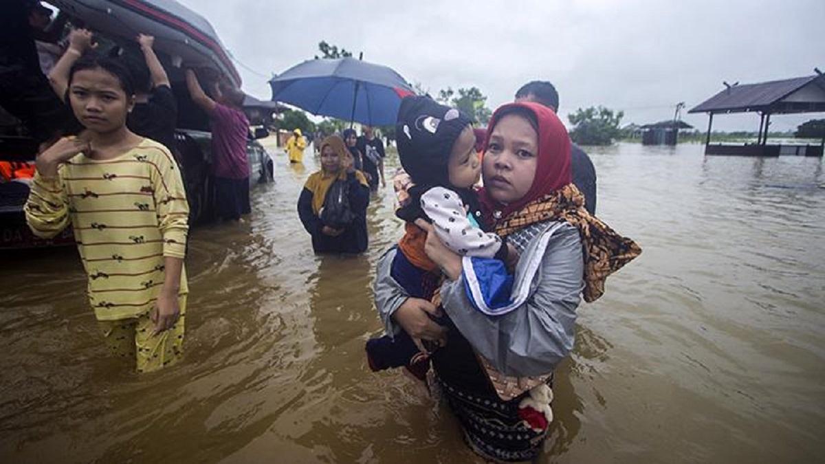 Jokowi Diprotes Netizen karena Tak Singgung Banjir Kalimantan Selatan
