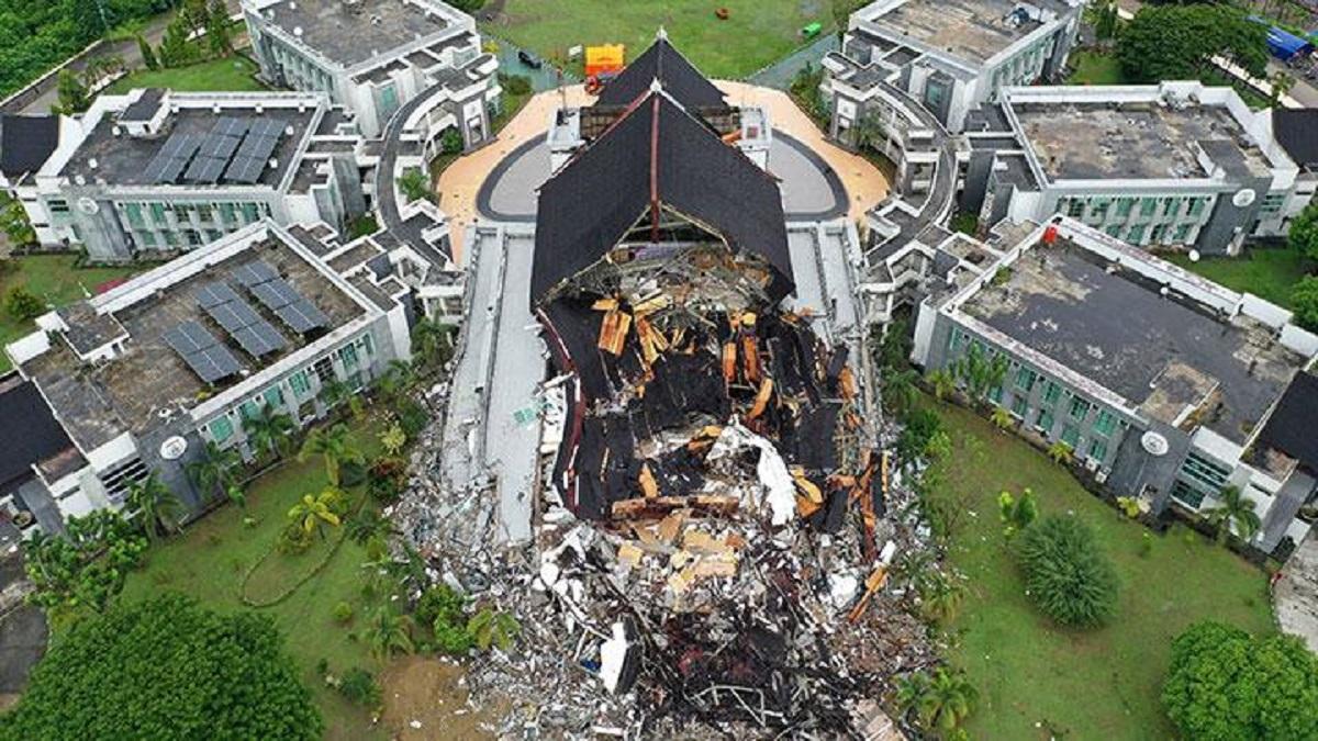 Gardu PLN Terdampak Gempa Mamuju-Majene