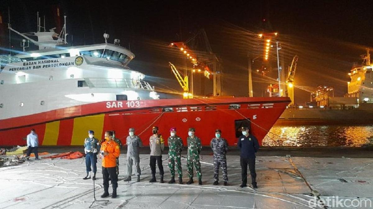 Basarnas Update Temuan hingga Hari Ke-11 Evakuasi Sriwijaya Air SJ182