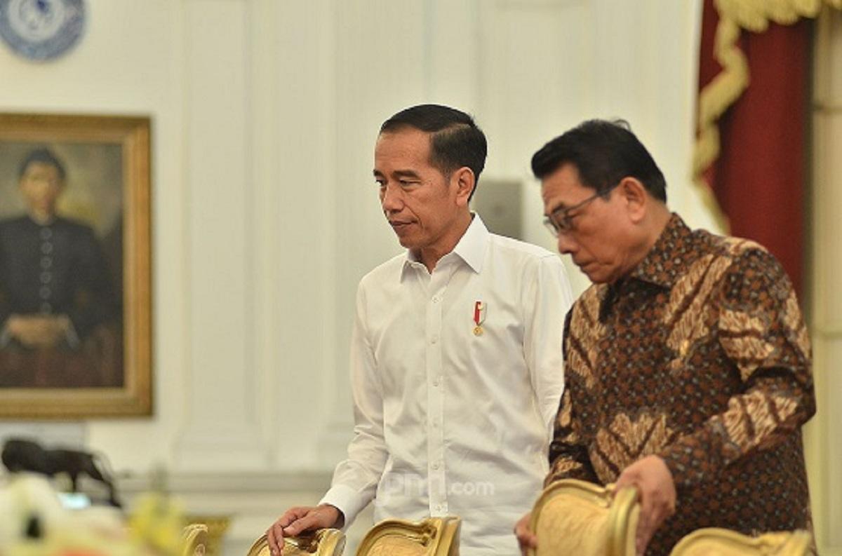 Tagih Komitmen Jokowi, Irwan Fecho: Tidak Ada Jalan Lain, Moeldoko Harus Out dari istana