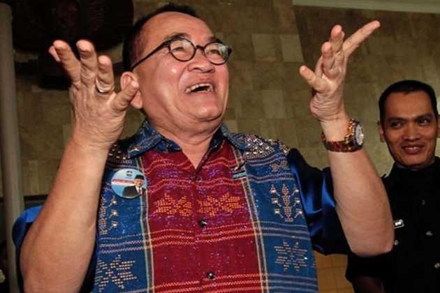 Ruhut Sitompul Anggap MS Kaban dan Refly Harun Orang Stres