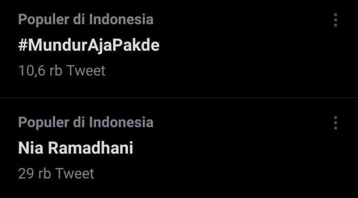 Trending Tagar 'Mundur Aja Pakde' di Twitter, Netizen: Jangan Paksain Menjabat