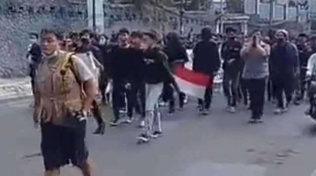 Demo Mahasiswa Tolak PPKM Di Bandung, Polisi: Mereka Ditunggangi
