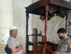 Pelaku Pembakaran Mimbar Masjid Raya Makassar Kabur Lompat Pagar