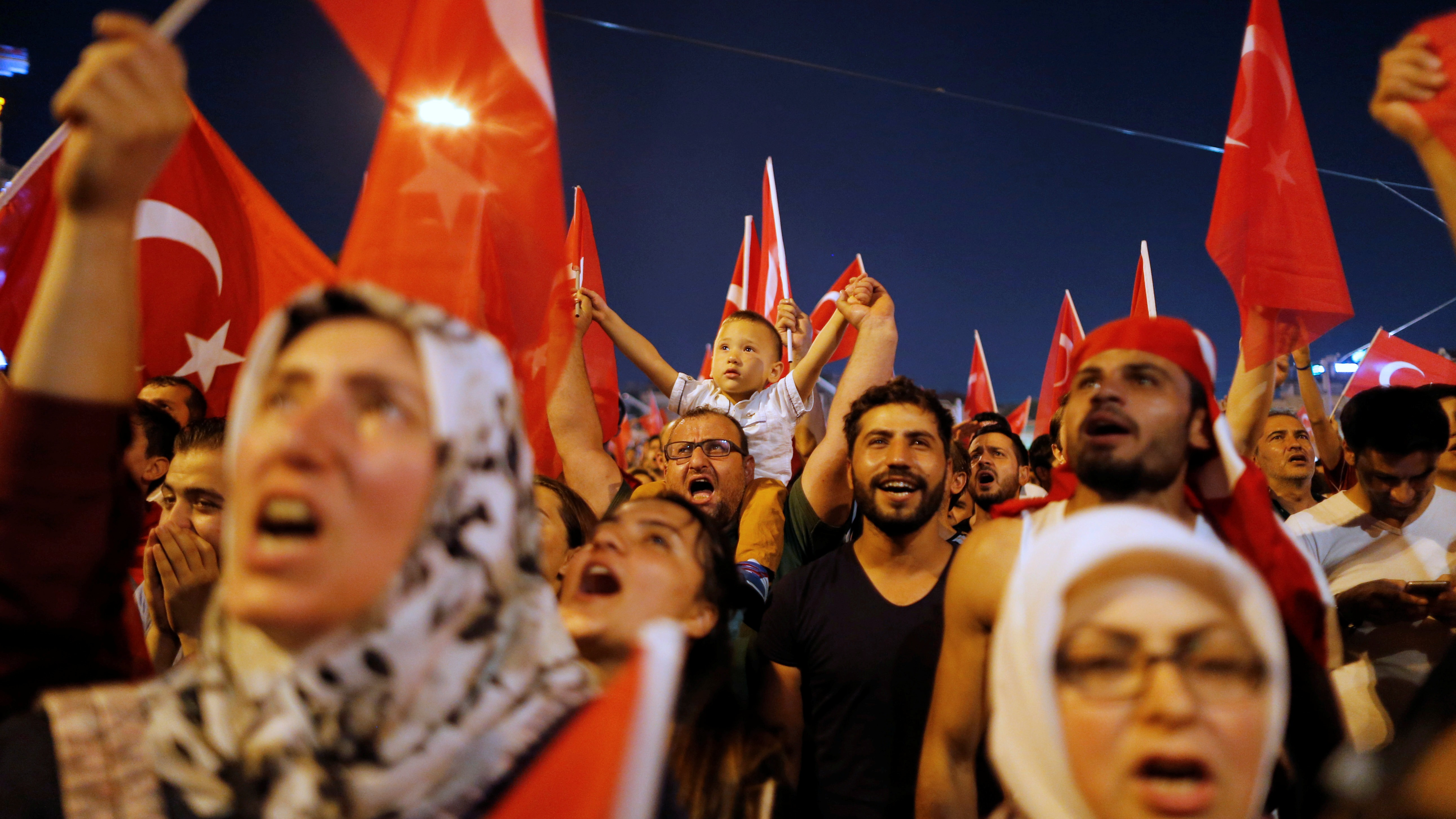Turkish people played biggest part in blocking coup