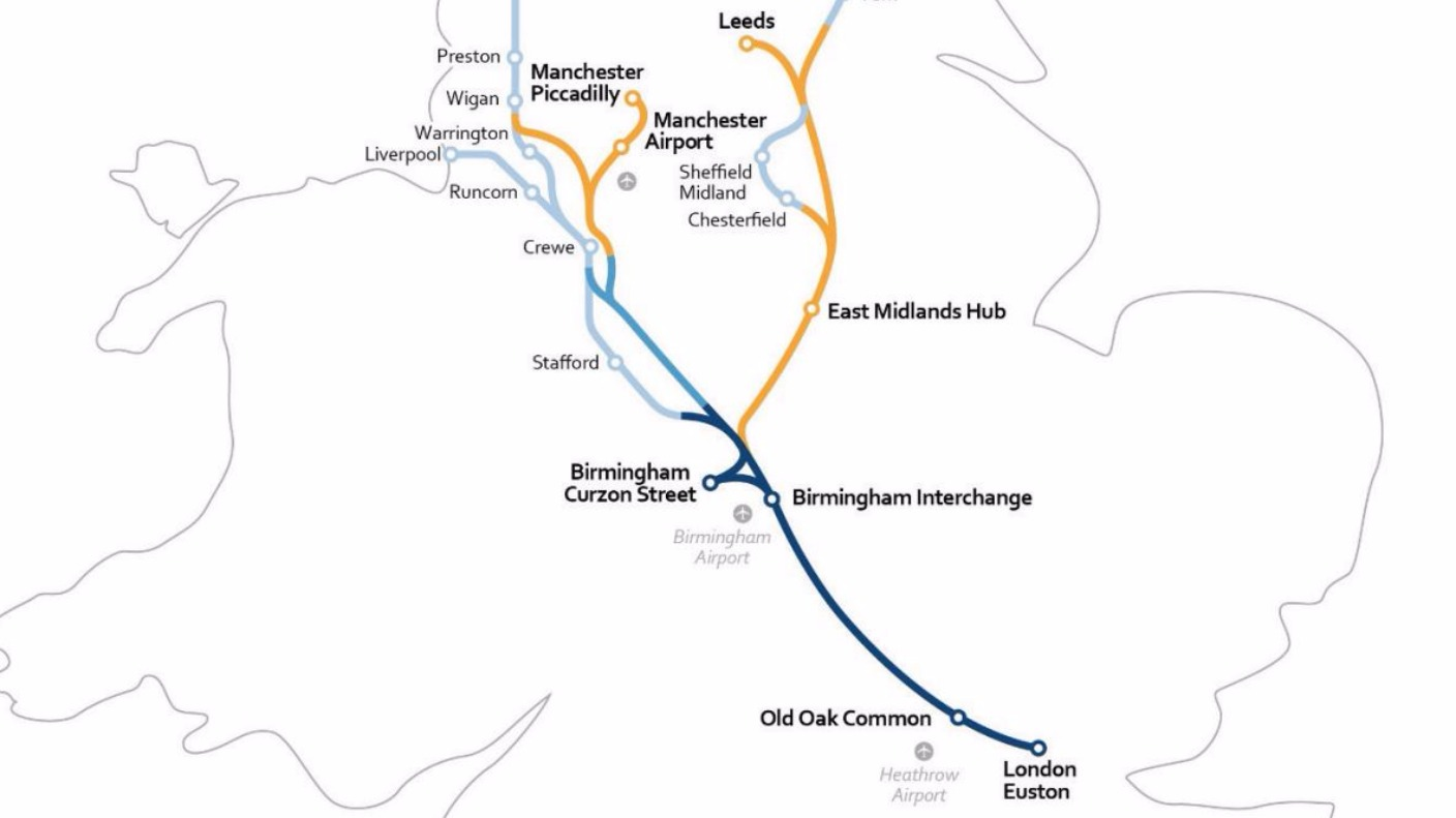 Hs2 Phase Two Where Will The Route Run