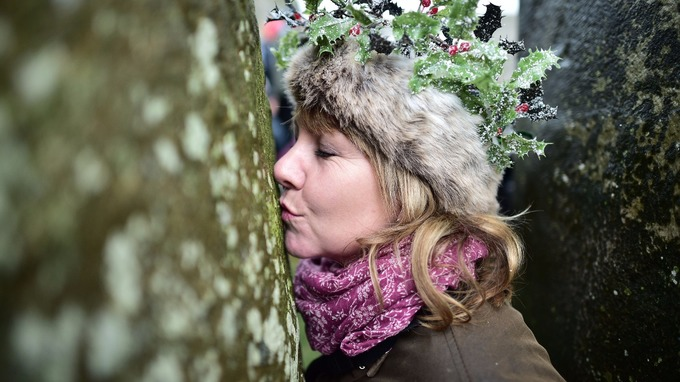 People have gathered at Stonehenge for thousands of year to celebrate the winter solstice.