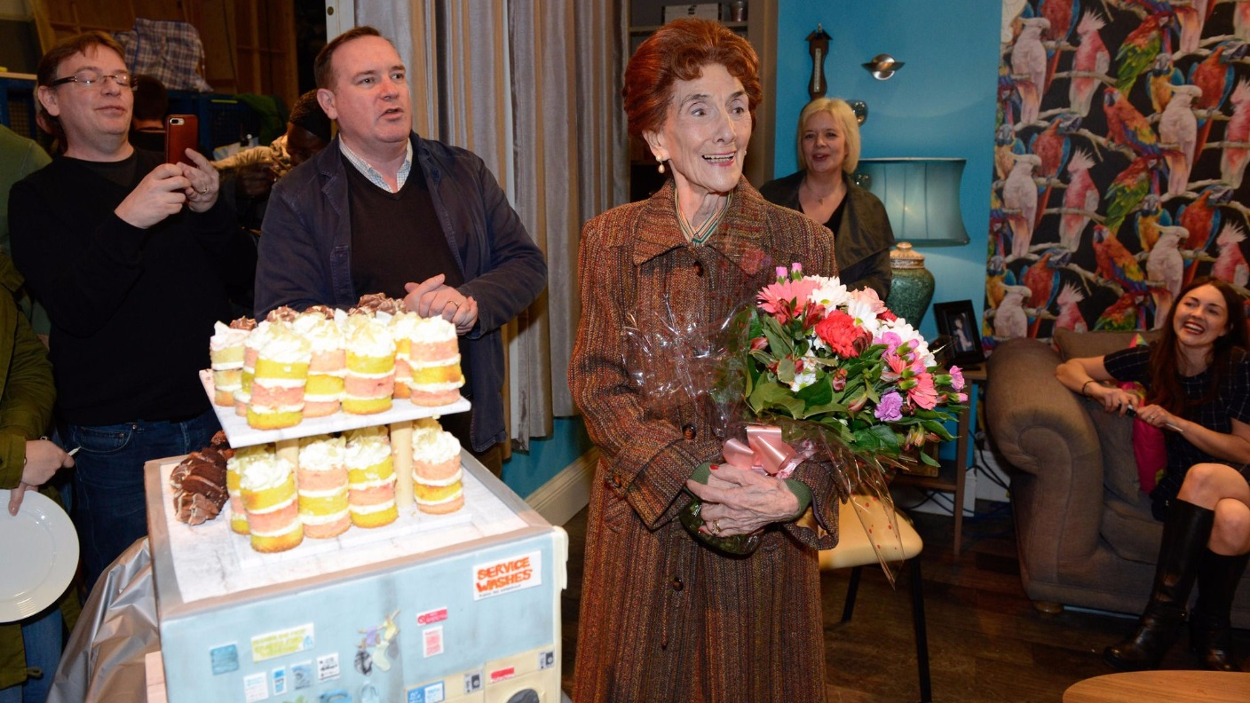 Eastenders Stars Throw Surprise 90th Birthday Party For