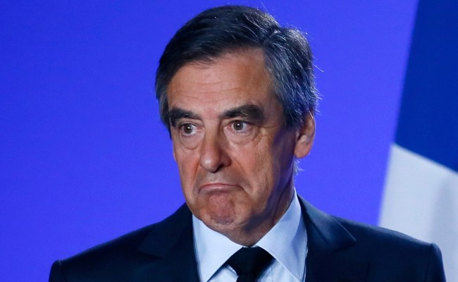 French Presidential Election Francois Fillon Refuses To